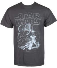 Pánské tričko LIVE NATION Star Wars Classic New Hope černá