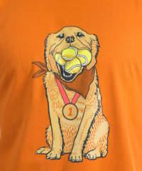 Pánské tričko Zlatý retrívr