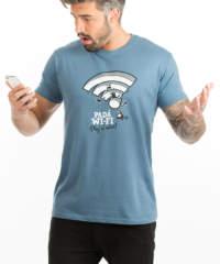 Pánské tričko Padá wi-fi