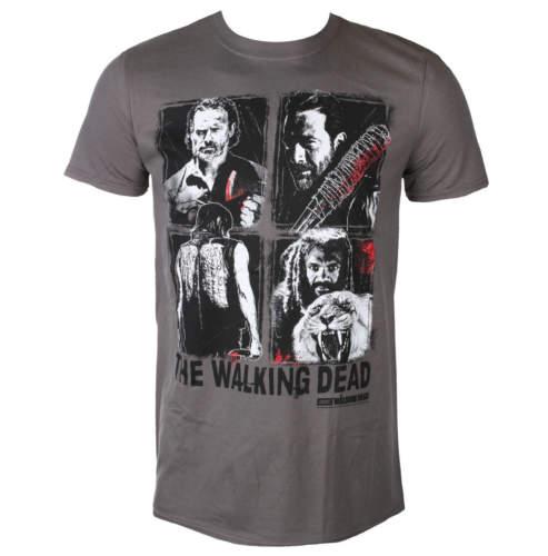 Pánské tričko PLASTIC HEAD The Walking Dead 4 CHARACTERS černá