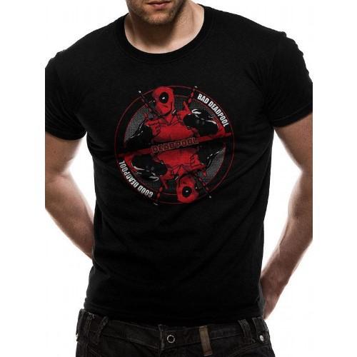 Tričko Marvel  Deadpool Bad Good