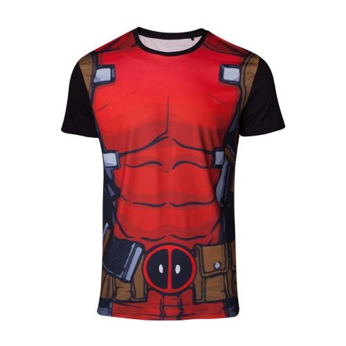 Tričko Marvel  Deadpool – Deadpool's Suit