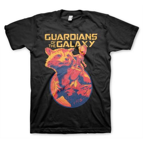 Tričko Guardians of the Galaxy – Rocket & Groot