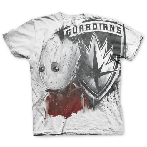 Tričko Guardians of the Galaxy – The Groot Allover