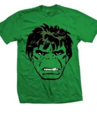 Tričko Marvel Comics – Hulk Big Head
