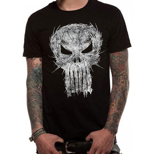 Tričko Punisher – Shatter Skull