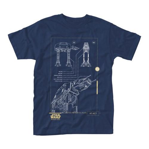 Tričko Star Wars Rogue One – Blue Print