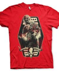 Tričko Star Wars Solo – Chewbacca Emblem, červené