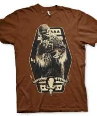 Tričko Star Wars Solo – Chewbacca Emblem, hnědé