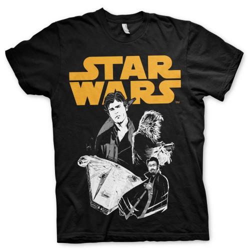 Tričko Star Wars Solo – Story
