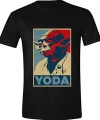 Tričko Star Wars – Yoda Poster