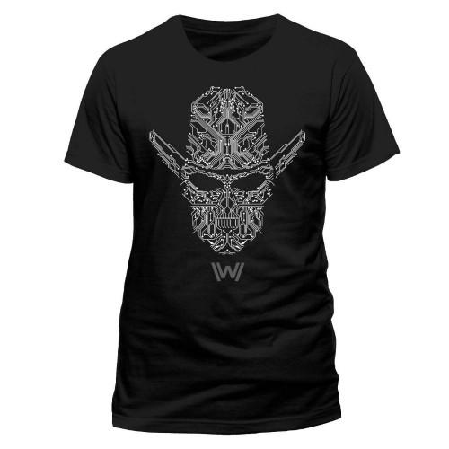 Tričko Westworld Circuit Face