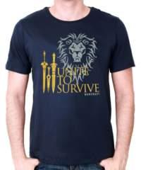 Tričko World of Warcraft  Unite to Survive