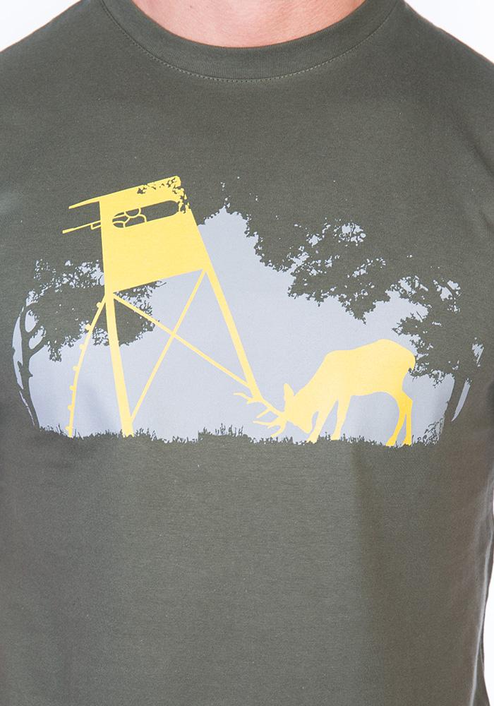 Pánské tričko Lesní harmonie