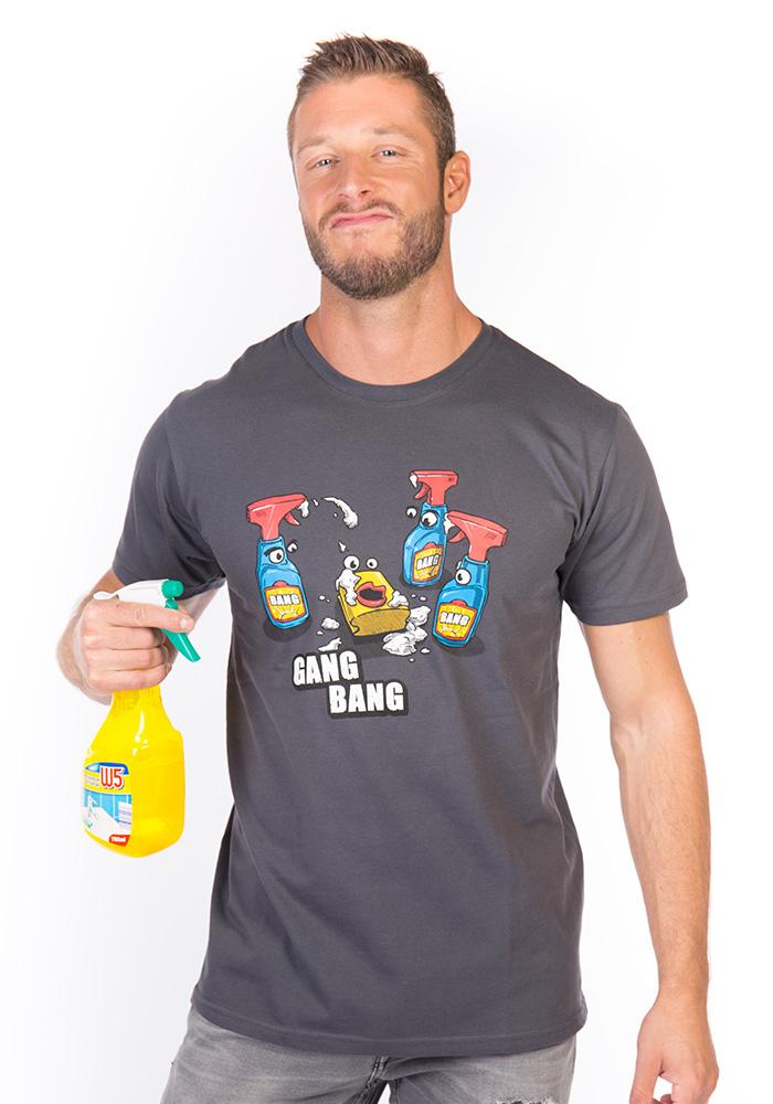 Pánské tričko Gang bang