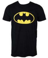 Pánské tričko LOW FREQUENCY Batman Logo černá