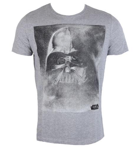 Pánské tričko LOW FREQUENCY Star Wars Darth Vader černá šedá