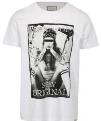Bílé tričko s potiskem Game Shine Original