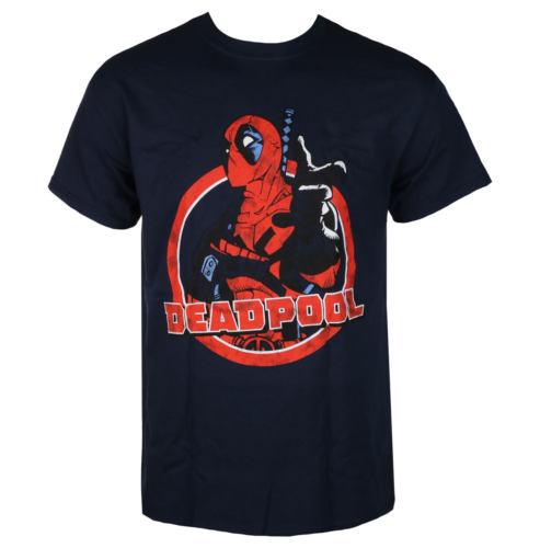 Pánské tričko LIVE NATION Deadpool LOGO POINT černá