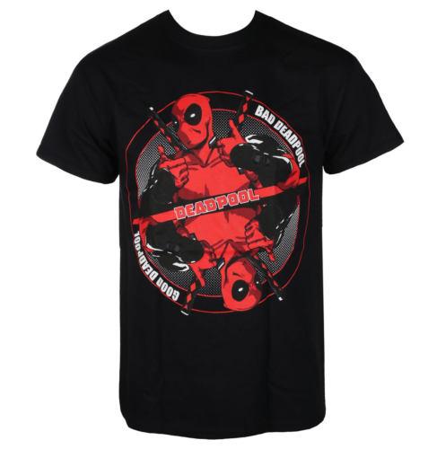 Pánské tričko LIVE NATION Deadpool BAD GOOD černá
