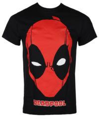 Pánské tričko LIVE NATION Deadpool PORTRAIT černá