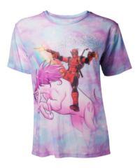 Filmové tričko Deadpool Dámské  Unicorn Mesh