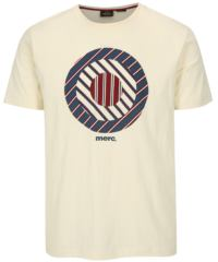 Krémové tričko s potiskem Merc