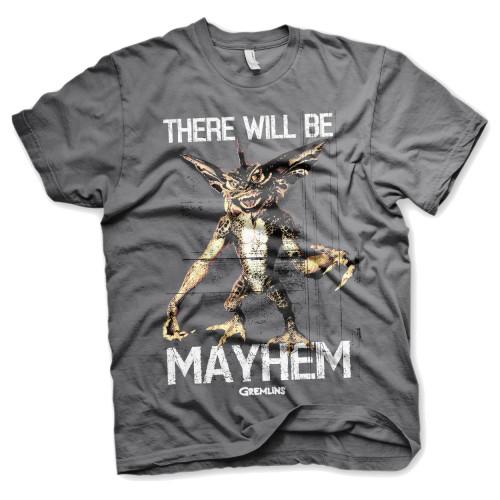 Pánské tričko Gremlins, šedé