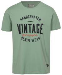 Světle zelené tričko s potiskem Vintage Shine Original