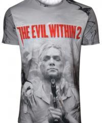 Tričko The Evil Within 2  – Box Art Sublimation