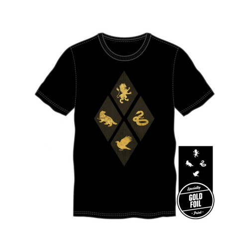 Tričko Harry Potter – Gold Foil
