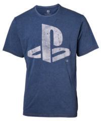 Tričko pánské Playstation – Faux Denim