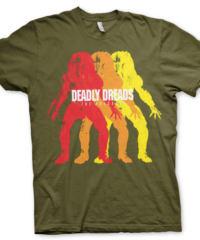 Tričko Predator – Deadly Dreds, olivově zelené