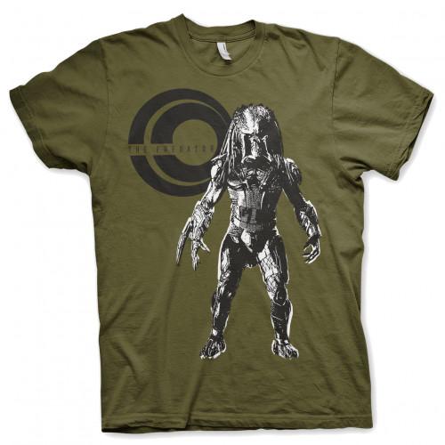 Tričko Predátor na lovu – olivové