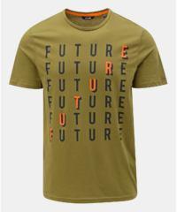 Zelené tričko s potiskem ONLY & SONS Fore